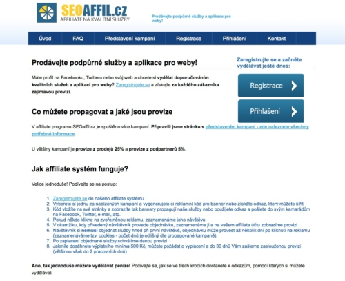 SEOaffil.cz