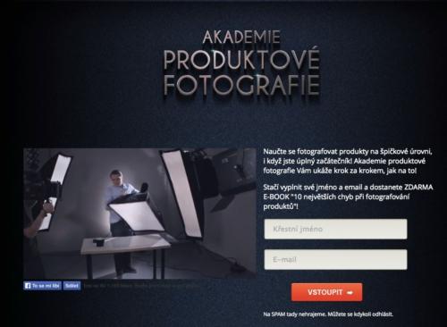Akademie Produktove Fotografie