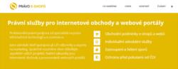 Právní služby pro internetové obchody